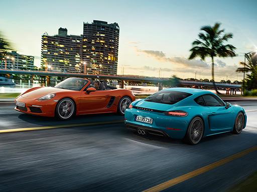 Exklusive Leasingangebote für Porsche 718 Modelle.